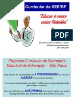 Proposta Curricular Da SEE-SP Eliana