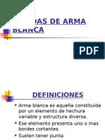 5 - Heridas de Arma Blanca