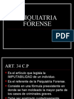 13 - PSIQUIATRIA FORENSE