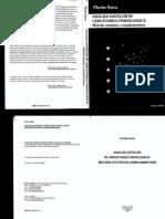 Florin Sava - Analiza Datelor in Cercetarea Psihologica