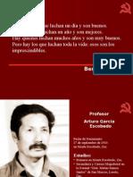 Profesor Arturo Escobedo