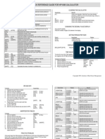 HP10BII QuickReferenceGuide