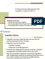 Cognition Cockpit Overview