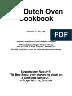 124758 Boy Scouts Dutch Oven Cookbook