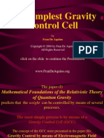 Fran de Aquino - The Simplest Gravity Control Cell (2008)