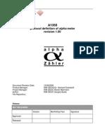 A1350FW5xx Communication