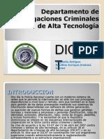 Depart Amen To Investigaciones de Crimenes de Alta Tecnologia 5ta