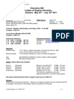 Chem 008 Summer 11 - Syllabus