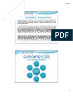 Power Point 3 - Carbohydrates