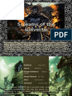 Screams of the Universe - MMORPG Concept
