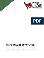 Reforma de Estatutos Oficial