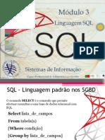 SQL - Modulo 3 - Select
