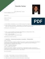 Currículo - Daniel Ramôa (com foto)