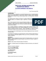 Reglamento del CONAREME - Resolución Suprema Nº 002-2006-SA