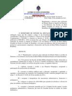 PORTARIA - REGULAMENTAÇÃO DA ELEIÇÃO DE DIRETORES DA REDE ESTADUAL DE ENSINO DE RO