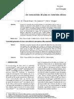 Generacion Control Ada de Nanocoloides de Plata