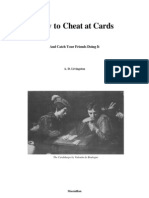 How to Cheat at Cards
