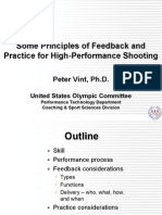 Shooting Feedback and Practice Presentation