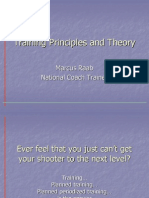 Training Theory and Principles