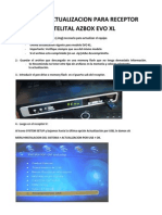 Guia de Actualizacion Para Azbox Evo Xl