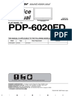 PDP-6020FD ARP3478 Service Manual