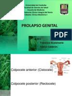 Prolapso Genital y sis