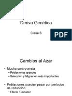 Clase 6 -Deriva Genética