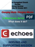 5 Workshop Session 3 - A Missionary Service Group