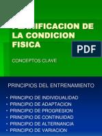 Planificacion de La Condicion Fisica (por Pedro Moreno Boluda)