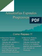 Amiotrofias Espinales Progresivas