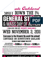 Oakland General Strike on 2nd November 2011