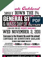 Oakland General Strike on 2nd November 2011