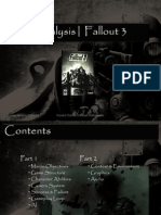 Analysis Fallout3 Final