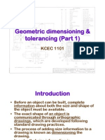 9a- Geometric Dimension Ing & Tolerancing