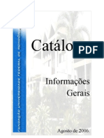 Catálogo Campus Vilhena