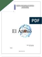 Trabajo de Química - El Átomo