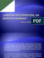 La Libertad de expresión, un derecho humano
