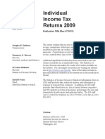 Individual Tax Returns - IRS 2009