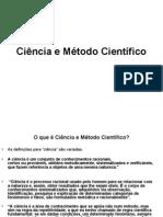 Ciência e Método Científico