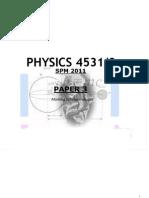 Physics p3 Experiment
