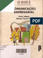 LIVRO - O que é Comunicação Empresarial - Paulo Nassar