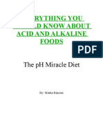 Everything You Should Know About Acid and Alkaline Foods