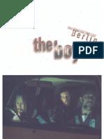 The Boys (1998) - Press kit