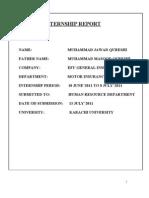 Final Internship Report....