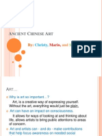 Ancient Chinese Art Power Point Finally Final