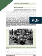 Violação dos direitos humanos