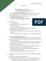 Marking Scheme > Biology 2004 Paper 1 Marking Scheme
