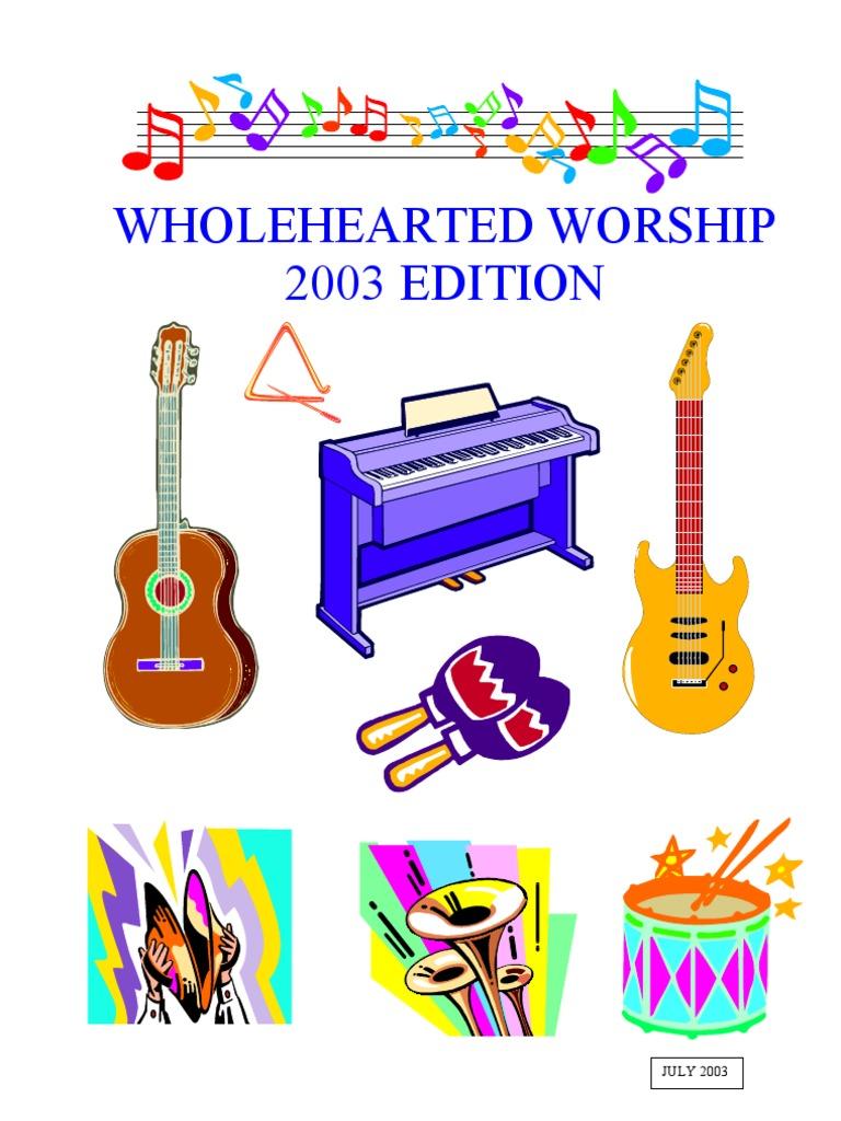 Songbook Glory Religion Heaven