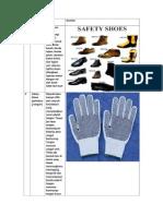 KELOMPOK 3 Mengidentifikasi Standart APD Yang Digunakan Pada Bengkel Otomotif