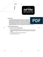 HP Deskjet 5550 Series - Portuguese Quick Reference Guide (Printers EXIF Print)